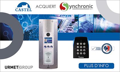 Acquisition de la société SYNCHRONIC